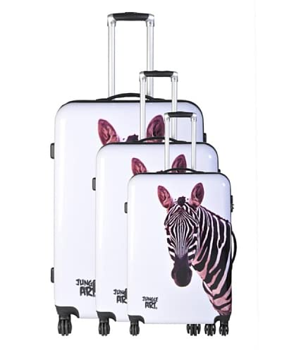 Jungle Art Set 3 Trolley 4 Ruote Zebra