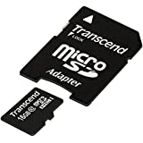 Transcend TS16GUSDHC10E Class 10 Extreme-Speed microSDHC 16GB Speicherkarte mit SD-Adapter [Amazon Frustfreie Verpackung]