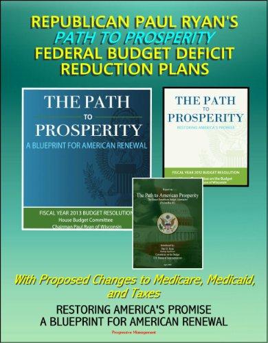 Republican Paul Ryan 39 S Path To Prosperity Federal Budget