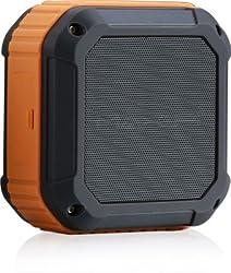 MAX Pi BLUETOOTH SPEAKER FOR SHOWER/OUTDOOR CSR 4.0,NFC,WATERPROOF Orange color