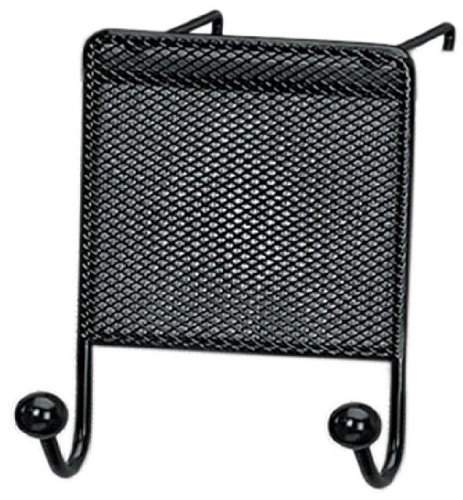 Fellowes Mesh Partition Additions Double Coat Hook, Black (75903