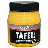PICCOLINO Tafelfarbe 250ml Gelb - Tafellack zum Malen einer mit
