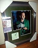 Sergio Garcia Pga Masters Champ Signed Autograph 13x16 Matted & Framed Coa A - JSA Certified - Golf Cut Signatures