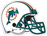 NFL Miami Dolphins 12-Inch Vinyl Helmet Magnet at Amazon.com