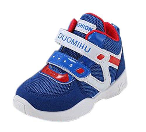 EOZY Chaussure de Sport Enfant Sneakers Tendance Souple pour Multisport