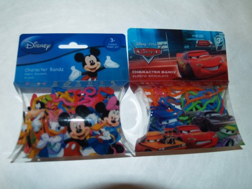 51%2Bso0ImWnL Cheap Buy  Disney Mickey Mouse & Friends & Disney Pixar CARS Character Logo Bandz Rubber Bands 40 Count