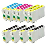 Product B009YY80FK - Product title 10 Pack US Patent compatible ink cartridge (Non-Oem) for Epson 126 T126: NX330