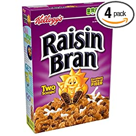 s Raisin Bran Cereal, 20-Ounce Boxes (Pack of 4): Amazon.com