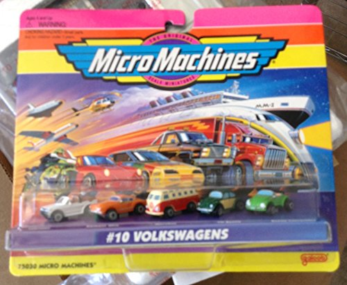 Micro Machines Volkswagens #10 Collection