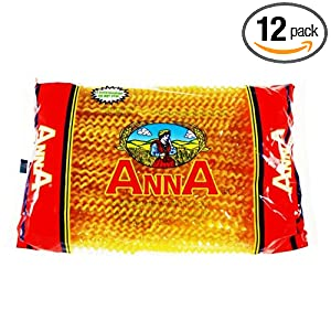 Amazon.com : Anna Long Fusilli #108, 1 Pound Bags (Pack of 12