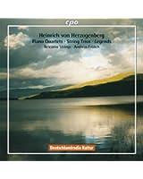 Heinrich von Herzogenberg: Piano Quartets; String Trios