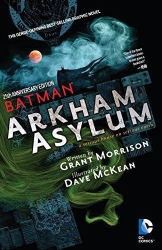 Batman Arkham Asylum 25th Anniversary by Grant Morrison (2014-11-11)