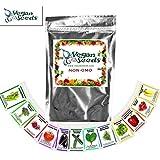 Emergency Survival Seed Kit - Heirloom Emergency Survival Seeds 34 Easy-to-grow Varieties