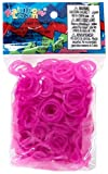 ~Brand New~ Rainbow Loom Rose Jelly Rubber Bands Refill + C-clips