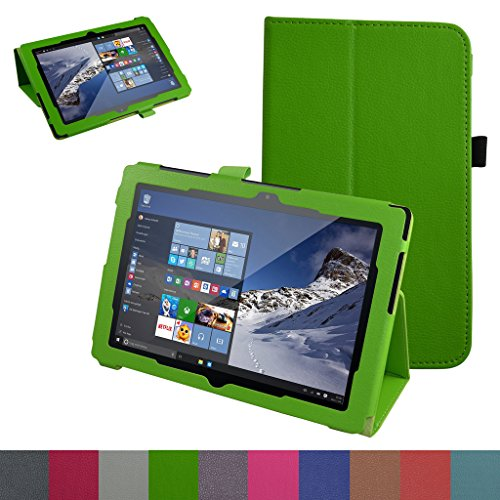 "Odys Wintab 10 / TrekStor SurfTab Wintron 10.1 Custodia,Mama Mouth slim sottile di peso leggero con supporto in Piedi caso Case per 10.1"" Odys Wintab 10 / TrekStor SurfTab Wintron 10.1 Tablet,Verde"