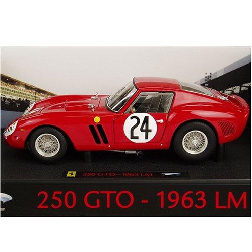 マテル 1/18スケール フェラーリ 250GTO Le Mans 1963 #24 エリートシリーズ