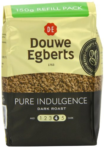 Douwe Egberts Pure Indulgence Instant Coffee Refill 150 G (Pack Of 3)