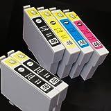 【むさしのメディアオリジナル】 エプソン互換 IC4CL46+BK2 4色+黒2個インクカートリッジ *ICチップ(残量表示機能)付き [フラストレーションフリーパッケージ(FFP)]