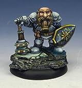 Stonehaven Dwarf Paladin Miniature