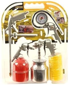 Lifetime Tools 77349 Kit d'Outils pneumatiques pour compresseur 5 pièces