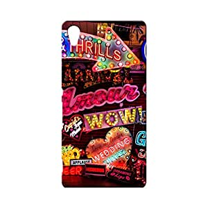 BLUEDIO Designer Printed Back case cover for Sony Xperia Z4 - G0331