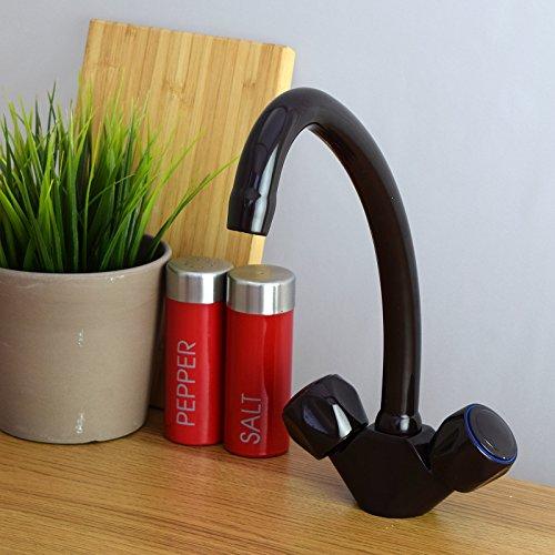 Cheap Price ENKI Kitchen Sink Mixer Taps Solid Brass Brown ...