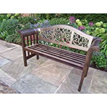 Hot Sale Oakland Living Mississippi Cast Aluminum Royal Bench