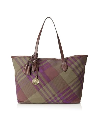 London Fog Women's Halbrooke Tote Bag  [Moss]