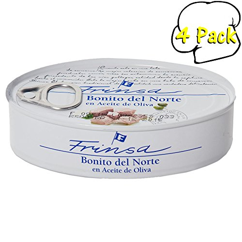 Benito Del Norte (White Tuna) In Olive Oil Tin, 3.9Oz (111Gm) - 4 Per Case