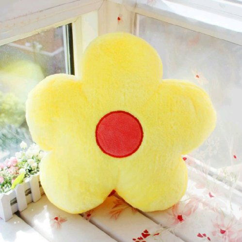 Flower Plush Stuffed Pillow Creative Gift Lovely Cushion elephant stuffed toys lovely simulation animal children kids plush doll pillow baby gift for christmas with blanket as gift