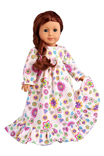 Good Night - Cotton nightgown - Doll Clothes for 18 Inch Dolls