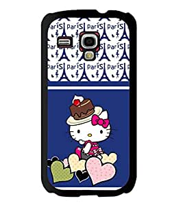 Fuson 2D Printed Cartoon Designer back case cover for Samsung Galaxy S3 Mini - D4438