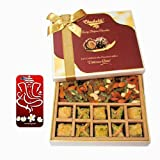Baklava & Cocktail Dry Fruit Box With 3d Mobile Cover For IPhone 6 - Diwali Gifts - Diwali Gifts