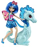 Barbie Princess Charm School Barbie Doll and Dragon- Blue