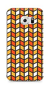Amez designer printed 3d premium high quality back case cover for Samsung Galaxy S6 Edge (Cool Pattern17)