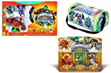 Skylanders Case, Giants Starter Pack Wii U, Giants Triple Pack #6 Bundle