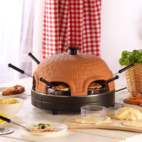 Terracotta Pizza Oven for 6 People plus Accessory New