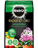 Miracle-Gro Expand 'n Gro Concentrated Enriched Compost 18 Litres (expands to 50 Litres)