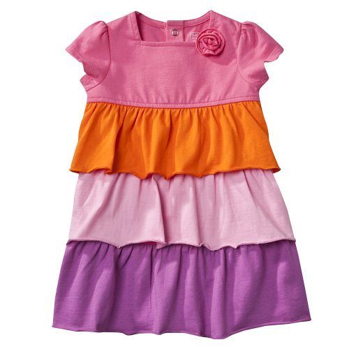 Infant Girls' JUST ONE YOU Made by Carters ® Pink/Purple Flower Dress Set 12M