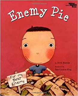 Enemy Pie book cover photo