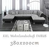 Wohnlandschaft, Couchgarnitur XXL Sofa, U-Form,...