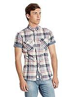 Lee Cooper Camisa Hombre Martock (Crudo)