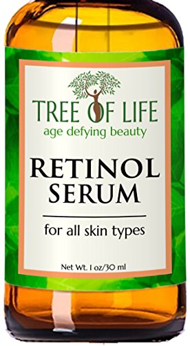 Best Retinol Serum - 72% ORGANIC - Clinical Strength Retinol Moisturizer Anti Aging Anti Wrinkle Facial Serum