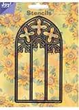 Joy! Crafts Stencil, Flower Arch