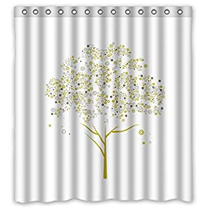 Modern Design Eco Friendly Colorful Geometry Shower Curtains Width X Height 48 X 72 Inches W H 120 By 180