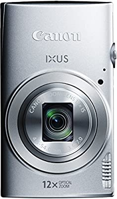 Canon IXUS 170 Digitalkamera (20 Megapixel, 12-fach optisch, Zoom, 24-fach ZoomPlus, opt. Bildstabilisator, 6,8 cm (2,7 Zoll) LCD-Display, HD-Movie 720p)