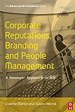 echange, troc Graeme Martin, Susan Hetrick - Corporate Reputations, Branding And People Management: A Strategic Approach to Hr