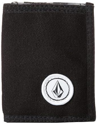 Volcom Men's Pivot Wallet, Black, One Size