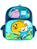 Small Size Blue Fight Adventure Time Backpack - Adventure Time Kids Bag