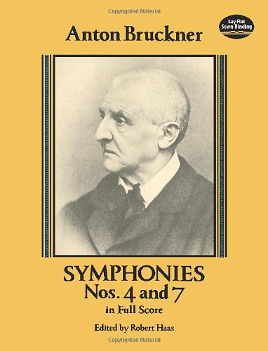 Symphonies Nos. 4 and 7 in Full Score (Dover Music Scores)